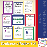 Sentence Building Posters and Reference Rings | Grammar Posters
