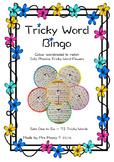 Tricky Word/Sight Word Bingo Bundle - Sets 1-6 - Jolly Phonics