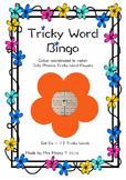 Tricky Word/Sight Word Bingo - Set 6 - Jolly Phonics