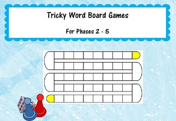 Tricky Word Board Games (Phases 2-5)