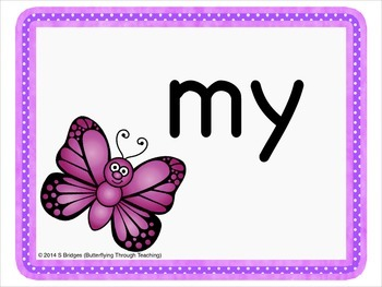 Tricky Word Flashcards Phase 3