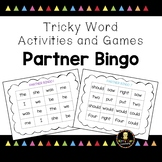 Tricky Word Games - Partner BINGO - Jolly Phonics Aligned