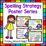 Spelling Rules and Strategies Posters   Spelling Tricky Words Anchor Charts