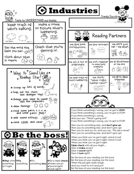 Tricky Word Minion Strategy Set- Be the Boss of Your Reading