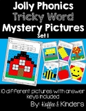 Tricky Word Mystery Pictures