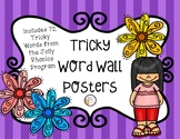 Tricky Word Wall Posters - Jolly Phonics Aligned!