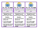 Tricky Words Bookmark - Author's Message