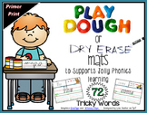 Phonics - Tricky Words Playdough-Dry Erase Mats