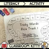 Tricky Words Race Track Activity