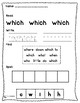 Jolly Phonics Tricky Words Worksheets Set 4