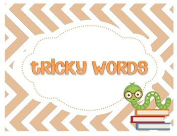 Tricky Words on Fluffy Clouds