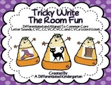 Tricky Write the Room Fun-Aligned and Differentiated