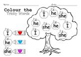 Tricky words apple tree