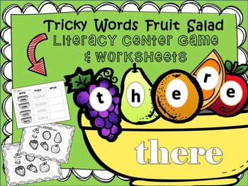 sight words literacy center activities- BEL10004