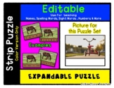 Tricycle - Expandable & Editable Strip Puzzle w/ Multiple