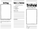 Trifold Book Report