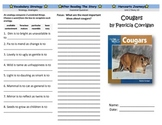 Harcourt Journeys Cougars Journeys Trifold Grade 5