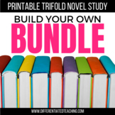 Foldable Trifold Novel Study Units: Build Your Own Bundle