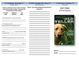 Harcourt Journeys Old Yeller Journeys Trifold 5th Grade