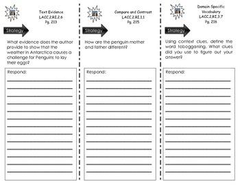 Trifolds - Unit 5 Bundle - Houghton Mifflin Hartcourt-  Journeys Common Core-