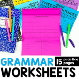 Grammar Practice Trifolds