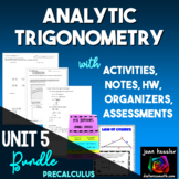Trig Analytic Trigonometry Bundle