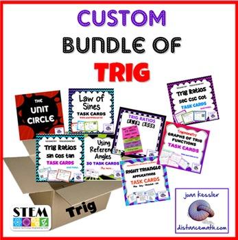 Trig Custom Bundle of 9 Activities