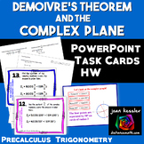 Demoivre's Theorem Task Cards PowerPoint plus HW