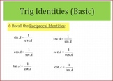 Trig Equations Simplifying (PP)