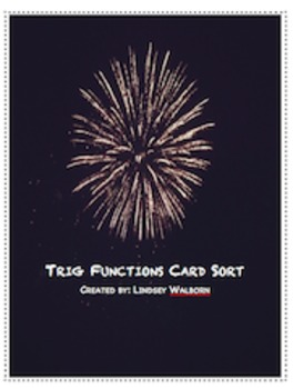 Trig Function Card Sort