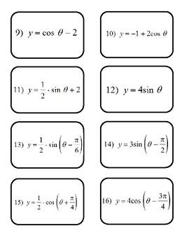 Trig Graph Match Up