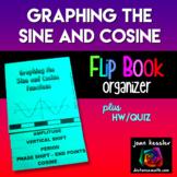 PreCalculus Trigonometry Graphing the Sine and Cosine Flip Book Foldable plus HW