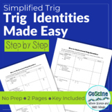 Trig Identities Made Easy