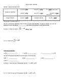 Trig Identities Note Sheet