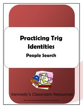 Trig Identities #1 - People Search