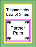 Trig - Law of Sines - PARTNER PAIRS