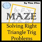 Right Triangle Trigonometry Maze