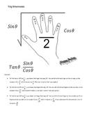 Trig Mnemonic-Hand Trick