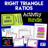 Trig Right Triangle Ratios Bundle of 5 Products   Algebra