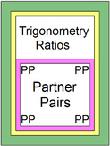 TRIGONOMETRY:  FINDING TRIG RATIOS WITH 9 EXIT TICKETS