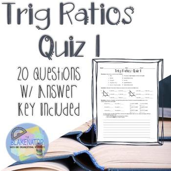 Trig Ratios Quiz