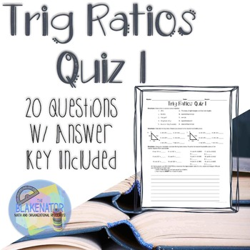 Trig Ratios Quiz