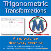 Trig Translations - interactive discovery exercise for distance learning