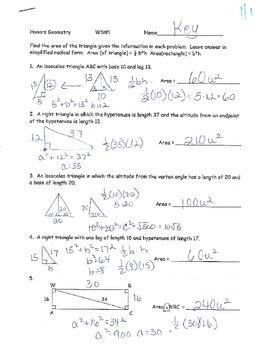 Trig Unit HomeworkWorksheets KEYS