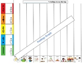 Triggers and Feelings graph, Feelings throughout the school day