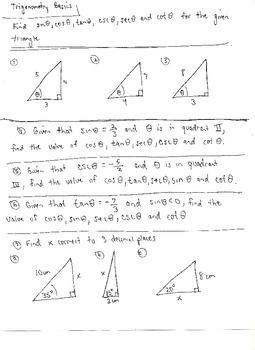 Trigonometric Basics