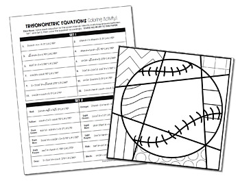 The Unit Circle with Everything  Charts  Worksheets  35  Ex les as well  furthermore Desmos Clroom Activities as well worksheet  Trigonometry Worksheets Answers Idenies Worksheet as well MATH PreCalculu   Stevenson High   Course Hero further Chapter 14  Trigonometric Graphs and Idenies also  further Solving Algeic Equations Worksheets Elementary School formula moreover  together with Solving Trig Equations Worksheet   Ch 7 Solving Equations Worksheet in addition Solving Trig Equations Worksheet   Ch 7 Solving Equations Worksheet in addition  in addition Trigonometric Equations Coloring Activity by All Things Alge   TpT in addition Collection of Solving trigonometric equations worksheet   Download also Solving Trigonometric Equations Worksheet besides 5th Grade Math   Khan Academy. on solving trigonometric equations worksheet answers