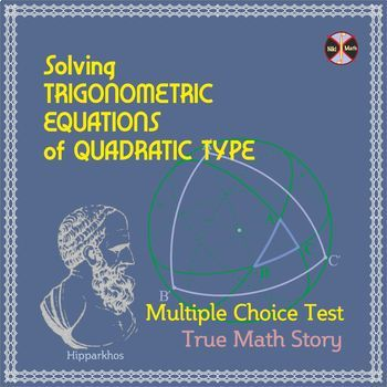 Trigonometric Equations of QUADRATIC TYPE - \