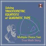 "Trigonometric Equations of QUADRATIC TYPE - ""Complete a st"
