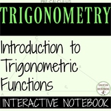 Trigonometric Functions Color Coded Interactive Notebook G